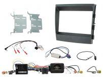 CTKPO04 Porsche Panamera Non Amplified Black Double DIN Facia Complete Installation Kit