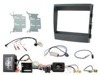 CTKPO05 Porsche Panamera Amplified Black Double DIN Facia Complete Installation Kit