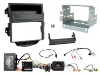CTKPO13 Porsche Macan Installation Kit. Double DIN Fiber-amplified vehicles with MOST 25 Systems and Quadlock Connectors