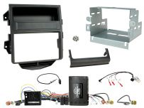 CTKPO14 Porsche Macan Installation Kit. Double DIN Non-amplified vehicles Quadlock connectors