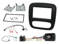 CTKRT06 Renault Trafic 2015 Onwards Double Din Car Stereo Fascia Steering Control Complete Installation Fitting Kit