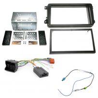 Skoda Fabia Mk2 Double Din Fascia Car Stereo Fitting Kit w/ Steering Controls