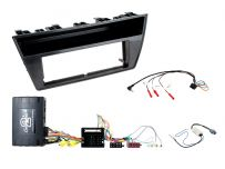 CTKSK07 Skoda Fabia Car Stereo Replacement Fitting Kit Double Din Fascia Panel For Skoda Blues OEM systems