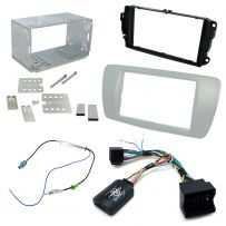 Seat Ibiza Mk4 Double Din Fascia Panel Steering Controls Car Stereo Fitting Kit