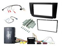 CTKST13 Seat Arona & Ibiza Car Stereo Replacement Fitting Kit Double Din Fascia Panel For MIB II Systems