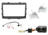 CTKSY02 SsangYong Rodius Double Din Car Stereo Fascia Complete Installation Fitting Kit