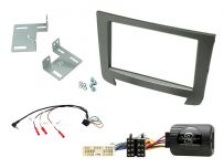 CTKSY03 SsangYong Rexton Onwards Double Din Car Stereo Fascia Complete Installation Fitting Kit