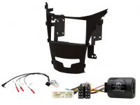 CTKSY04 SsangYong Korando Anthracite Double Din Stereo Fascia Complete Installation Fitting Kit