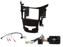 CTKSY05 SsangYong Korando 2 Anthracite Double Din Stereo Fascia Complete  Installation Fitting Kit