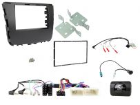 CTKSY08 SsangYong Musso Onwards Double Din Stereo Fascia Complete Installation Fitting Kit