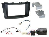 CTKSZ09 Suzuki Swift 2011 Onwards Double Din Car Stereo Fascia Complete Installation Fitting Kit