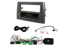 Single Din CarStereo Fitting Kit + Amp Bypass + Steering Control & PDC Tone Restorer for Volvo XC90 (2004-14)
