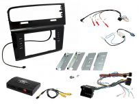 CTKVW09 Volkswagen Golf MK7 2013 Onwards RHD Double Din Car Stereo Fascia Complete Installation Fitting Kit