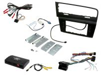 CTKVW09L VW Golf 2013 Onwards LHD Double Din Car Stereo Fascia Complete Installation Fitting Kit