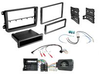CTKVW23 Volkswagen Vehicles with MIB-PQ Systems Double/Single Din Car Stereo Fascia Fitting Kit