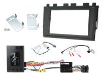 CTKVW27 Volkswagen Polo Car Stereo Replacement Fitting Kit Double Din Fascia Panel For MIB II Systems