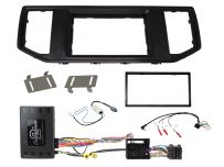 CTKVW30 Volkswagen & Man Car Stereo Replacement Fitting Kit Double Din Fascia Panel For MIB II Systems