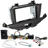 Double Din Facia Car Stereo Fitting Kit for Vauxhall Astra K Fascia Sterring Interface