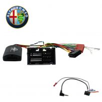 Steering Wheel Interface Stalk Adaptor For Alfa Romeo 4C Giulietta Mito - CTSAR005.2