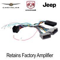 CTSCH00C - Chrysler Dodge Jeep Amplifier Turn On Interface & Steering Wheel Control