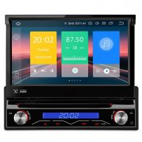 D710P Universal Single Din Android 10 Quad Core 2GB RAM + 16GB ROM Multimedia Car GPS DVD Player with 7