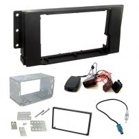 Range Rover Sport Steering Control Double Din Facia Panel Car Stereo Fitting Kit