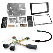 DDKIT-SA03-SW Saab 93 Double Din Fitting Kit with Stalk Control