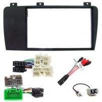 VOLVO S60, S80, V70 Double Din Fascia Adaptor ISO Wiring Lead Stereo Fitting Kit
