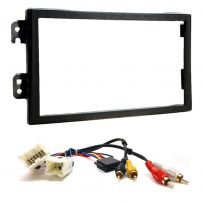 Double Din Facia Panel & BOSE Active ISO Wiring Lead FOR NISSAN 350Z