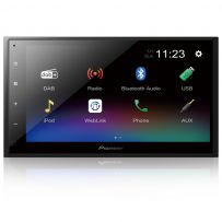 """DMH-A340DAB Pioneer 6.8"""" Double Din Touch Screen Car Stereo DAB Radio with Smartphone Mirroring, Bluetooth & USB"""