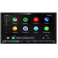 "KENWOOD DNX9190DABS 6.8"" HD Car Stereo CD DVD Navigation System with BT USB Wifi for Wireless Apple CarPlay & Android Mirorring"