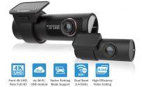 BlackVue DR900X-2CH Front & Rear Dash Camera 4K 30 FPS WiFi GPS 32GB Parking Mode Cloud Compatible
