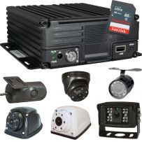 CCTV Camera and DVR Recorder Vehicle Security System for Car Taxi Van & Commercial Vehicles