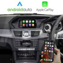 Wireless Apple CarPlay Android AutoInterface for Mercedes C Class E ClassW204/W212 2007- 2011 NTG 4