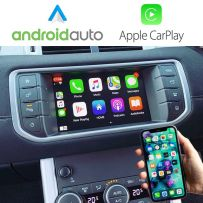 Wireless Apple CarPlay Android Auto Interface for Land Rover Range Rover Evoque 2015-2019