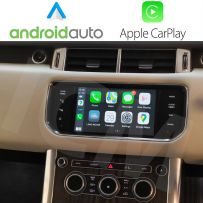 Wireless Apple CarPlay and Android Auto Interface for Land Rover Range Rover Evoque Discovery 4 2011-2015