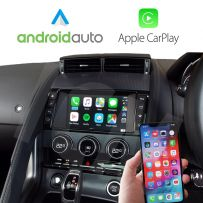 Jaguar F-Type 2013-2016 Wireless Apple CarPlay and Android Auto Interface