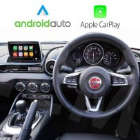 Wireless Apple CarPlay Android Auto Interface for Fiat 124 Spider 2016 Onwards with MZD Connect system