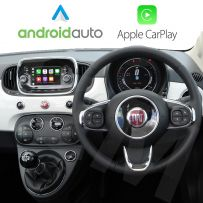 Wireless Apple CarPlay Android Auto for Fiat 500, Doblo, Ducato, Tipo 2015 OnwardsUconnect 5.0