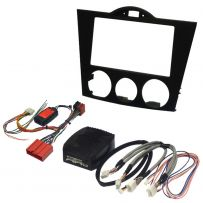 Mazda RX8 2003-2010 Double Din Fascia Steering Control Car Stereo Fitting Kit