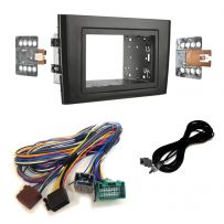 Double Din Car Stereo Fascia Panel Fitting Kit For Volvo XC90