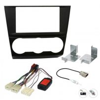 Subaru Forester 2015 Double Din Fascia Steering Control Car Stereo Fitting Kit