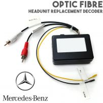 Optic Fibre Headunit Stereo Replacement Interface For Mercedes CLS S E SL SLK CL