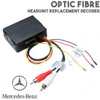 Optic Fibre Headunit Stereo Replacement Interface For Mercedes CLS E SLK CLK