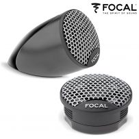 Focal TWU1.5 Tweeters Flush Surface Tilted Mount Car Van Dome Tweeters Speaker - 100W