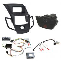 Ford Fiesta 2009 Onwards Radio Facia Double Din Car Stereo Fitting Kit