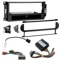 Chrysler 300C Amp Turn On Facia Adaptor Plate Steering Interface Car Stereo Fitting Kit