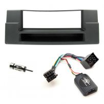 BMW 5 Series E39 Single Din Car Stereo Fascia w/ Pocket Fitting Kit