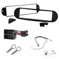 Single Din Fascia ISO Lead Car Stereo Fitting Kit