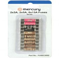 10 x Assorted Mixed Fuses 3amp 5amp 13amp Domestic Household Mains Plug Fuse